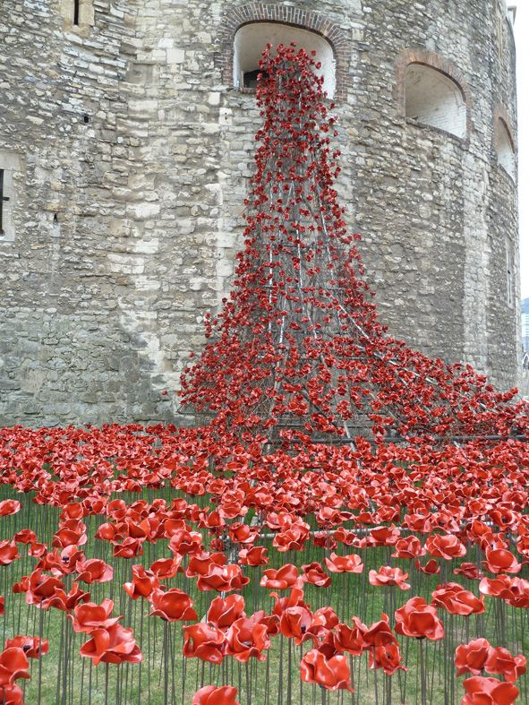 Tower of London: Seas of Red installation
