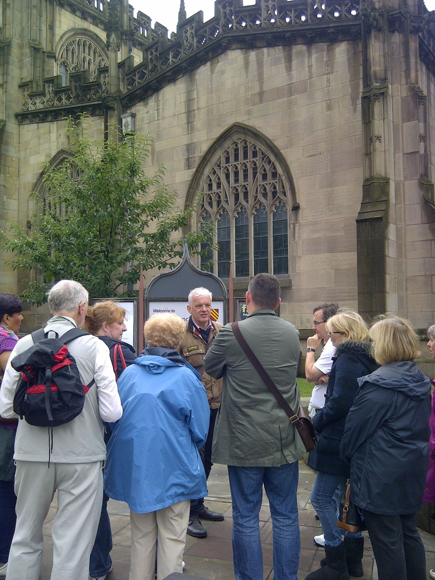 World War I Walk at Manchester Regiment Chapel of Manchester Cathedral