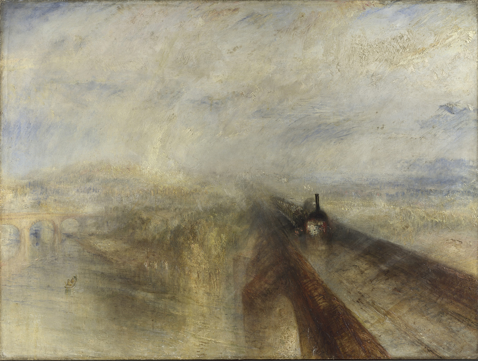 Joseph Mallord William Turner: Rain, Steam and Speed