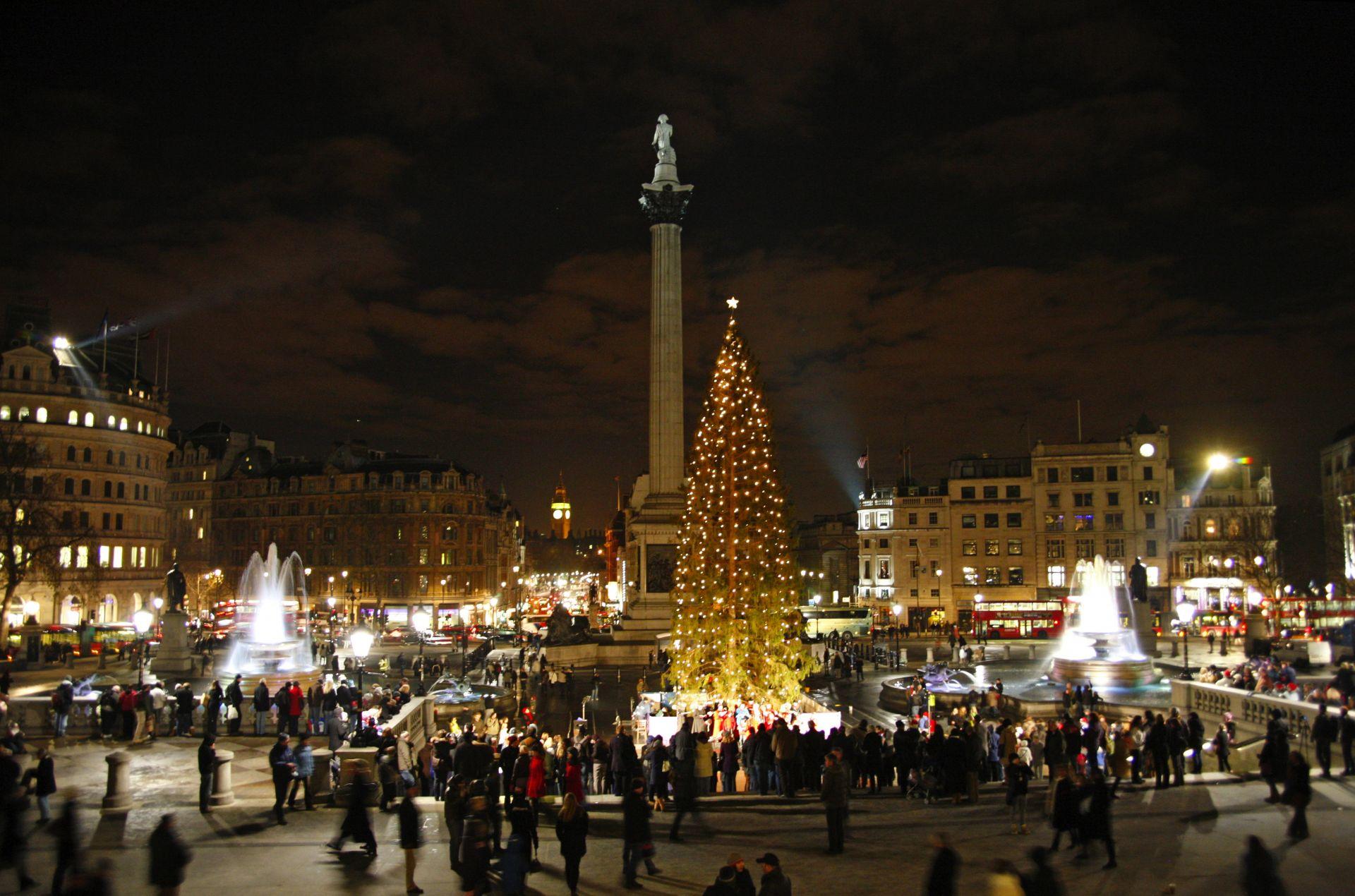 trafalgar square christmas tree - photo #10