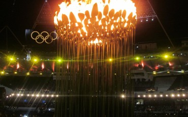 London Olympic Cauldron