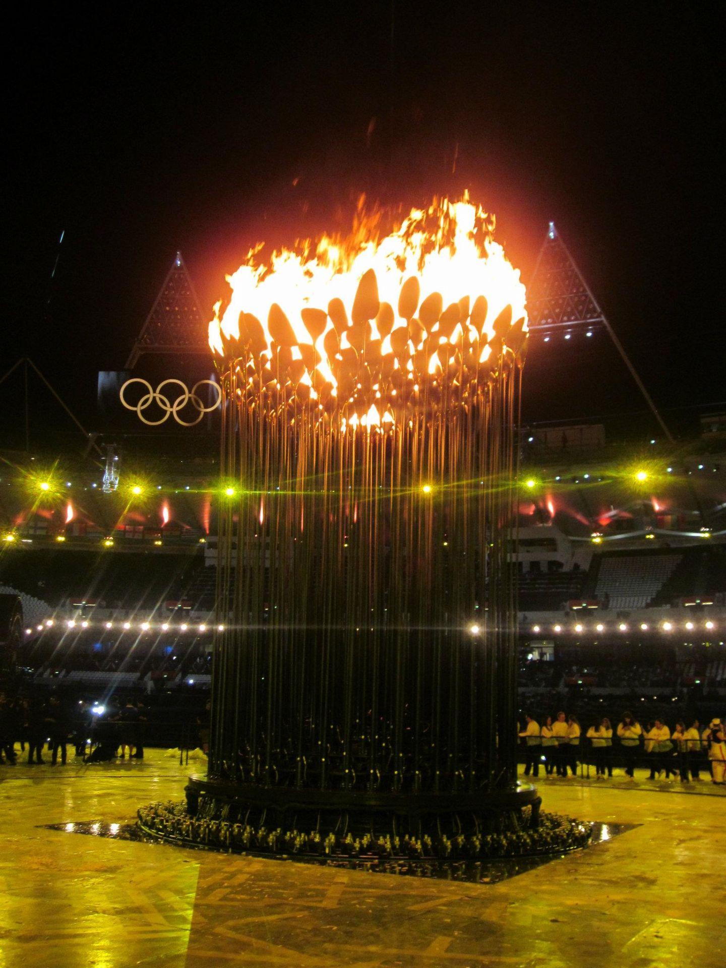 London Olympic Cauldron