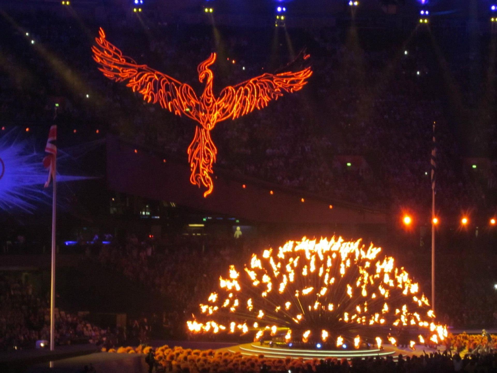 London 2012 Olympic Cauldron