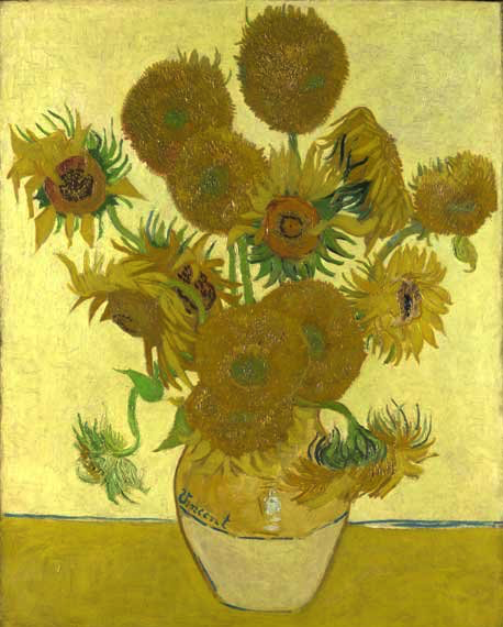 National Gallery - Sunflower by Vincent Van Gogh