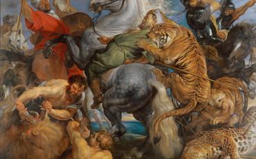 Peter Paul Reubens, Tiger, Lion and Leopard Hunt, 1616