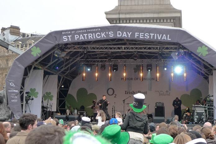 St Patrick's Day Festival - Trafalgar Square