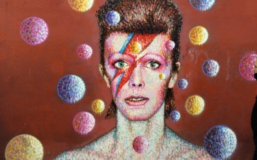 Brixton - David Bowie mural by street artist James Cochran. Photo Credit: ©Edwin Lerner.