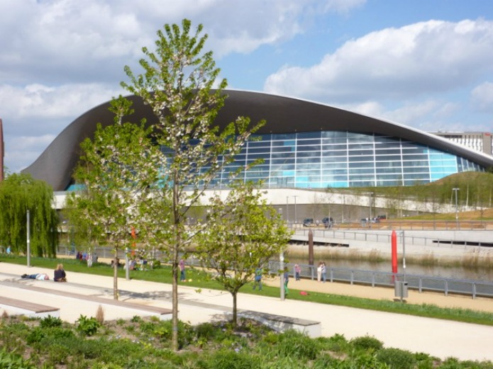Queen Elizabeth Olympic Park: Aquatics Centre