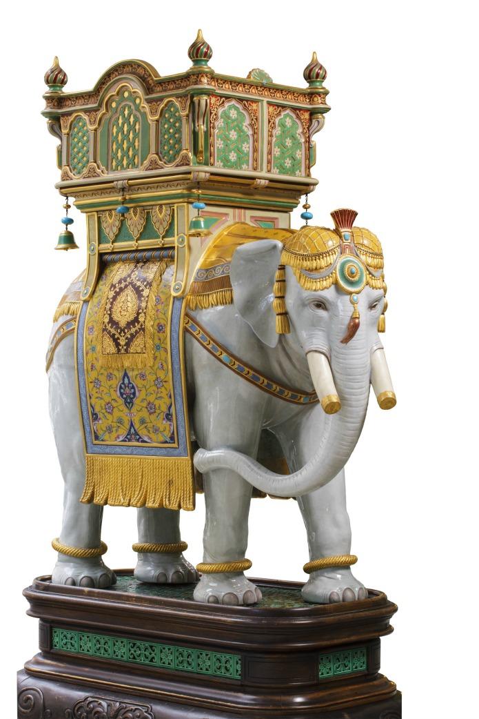 Minton Elephant 1889