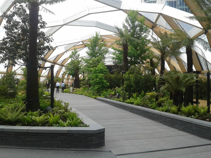 Crossrail Place: Garden