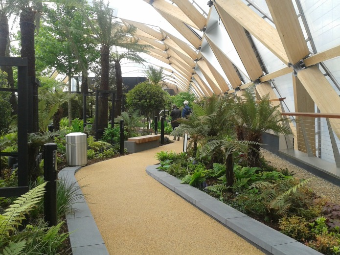 Crossrail Place An Exciting New Garden At Canary Wharf