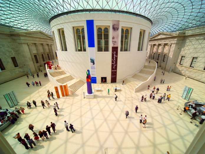 British Museum: Great Court