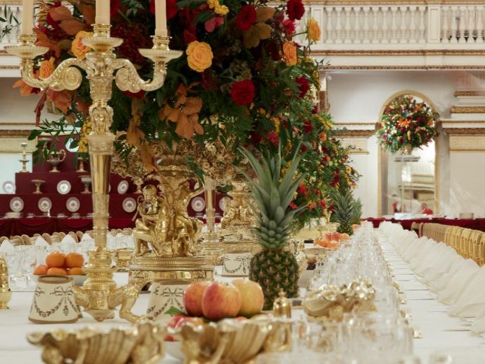 Buckingham Palace: State Banquet