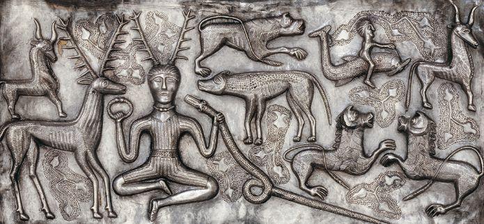 British Museum - Gundestrup Cauldron Silver Gundestrup