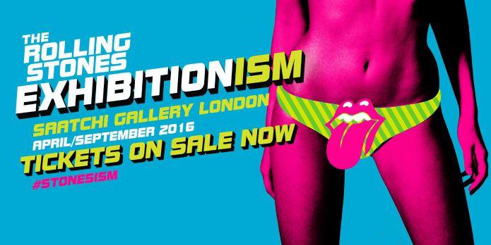 Saatchi Gallery - Rolling Stones Exhibition