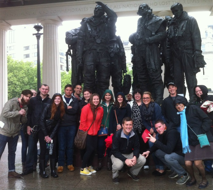 World War One Walks - Pittsburgh Duquesne University Students
