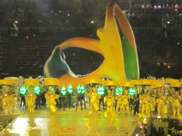 London 2012 - Brasil Handover
