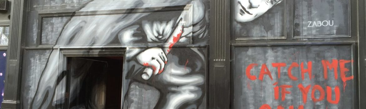 London Jack The Ripper Street Art. Photo Credit: ©LondonMatt/Flickr.