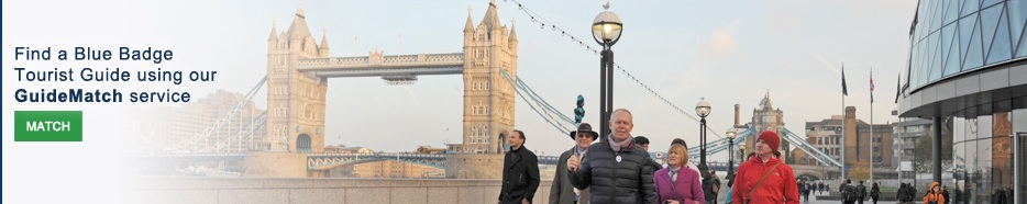 Guide London - find a Blue Badge Tourist Guide using our GuideMatch service.