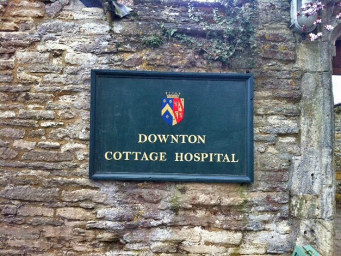 Downton Abbey: Hospital Sign