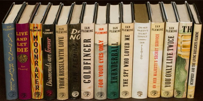 Ian Fleming - James Bond First Edition Books