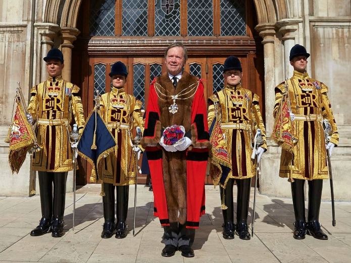 Lord Mayor 2015 - Jeffrey Evans