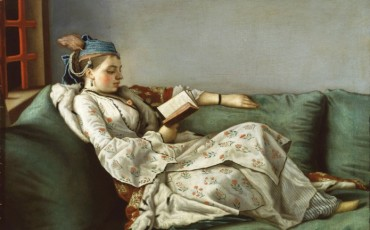 Royal Academy - Jean-Etienne Liotard - Woman on Sofa