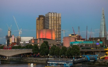 South Bank - Festival Pier & Queen Elizabeth Hall