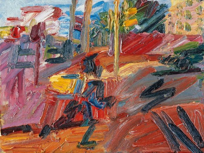 Tate Modern - Frank Auerbach - Hampstead Road