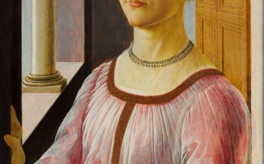 Sandro Botticelli, Portrait of a Lady known as Smeralda Bandinelli