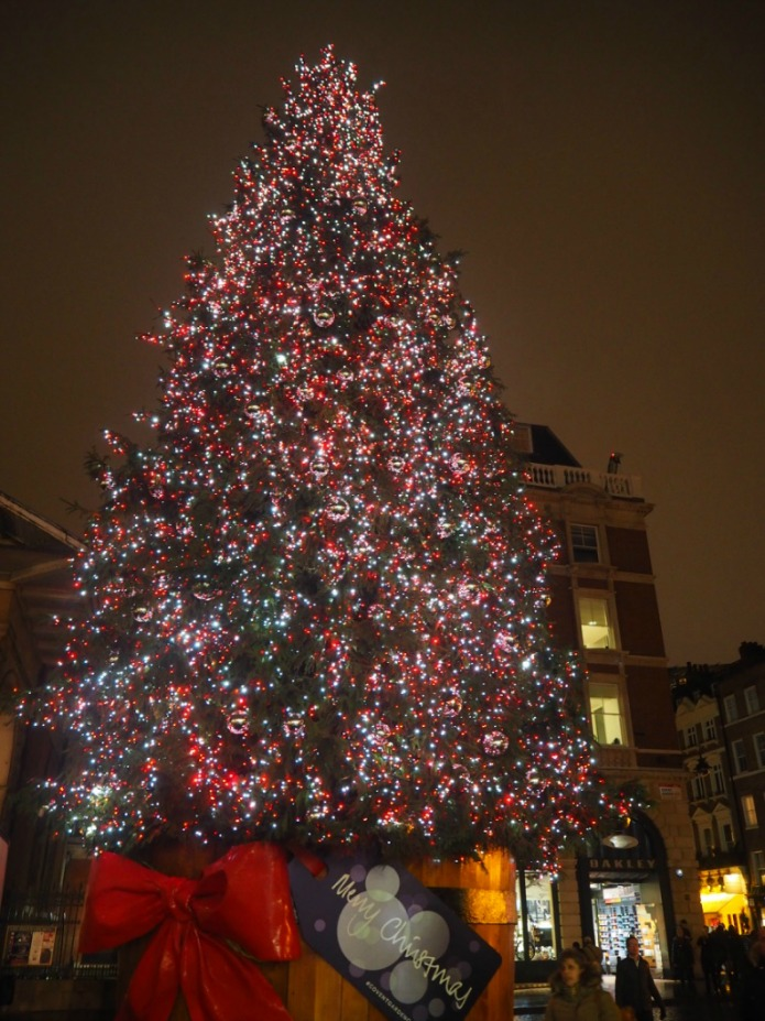 London Christmas Tree 2015 - Covent Garden