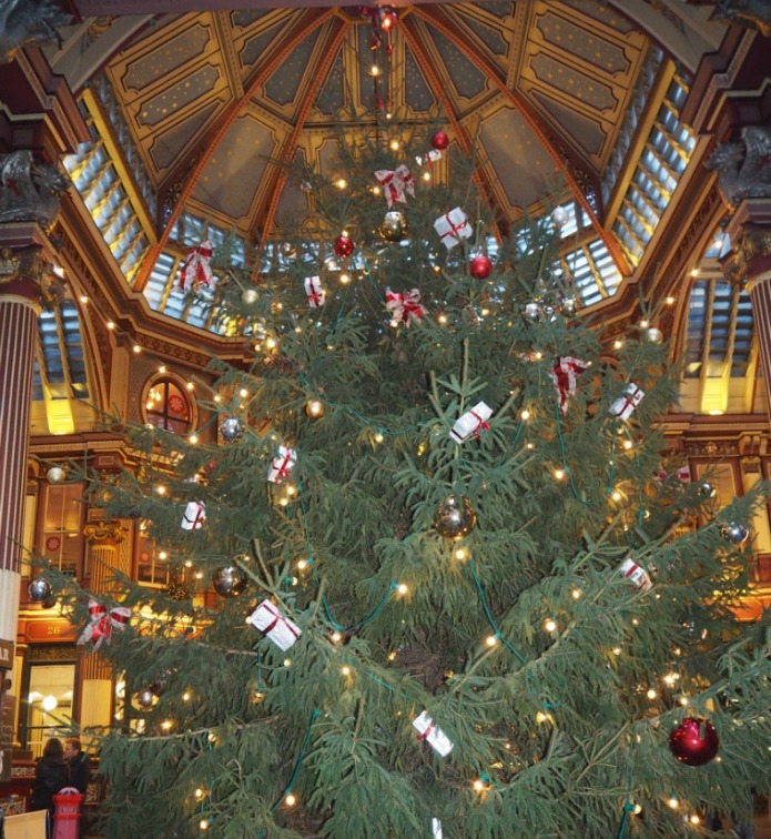 London Christmas Tree 2015 - Leadenhall Market
