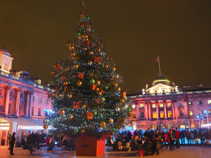 London Christmas Tree 2015 - Somerset House