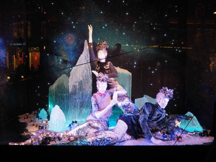 Selfridges Christmas Window 2015 - Pisces