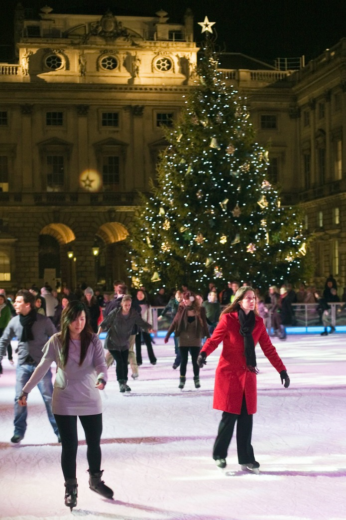 Somerset House - Ice Skating