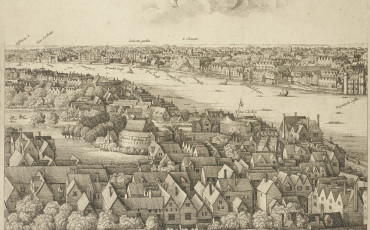 Wenceslaus Hollar, London, the Long View, 1647