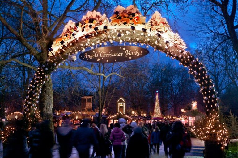 Angels Christmas Market at Hyde Park Winter Wonderland. Photo: ©Hyde Park Winter Wonderland