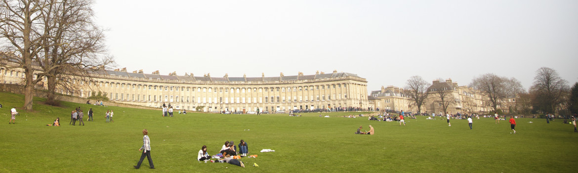 Bath - The city is a UNESCO historic world heritage site, and a town full of visitor attractions. The Royal Crescent. Georgian Bath.