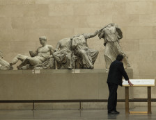 British Museum - Parthenon Sculptures Gallery.