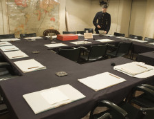 Churchill War Rooms - The Cabinet Room.
