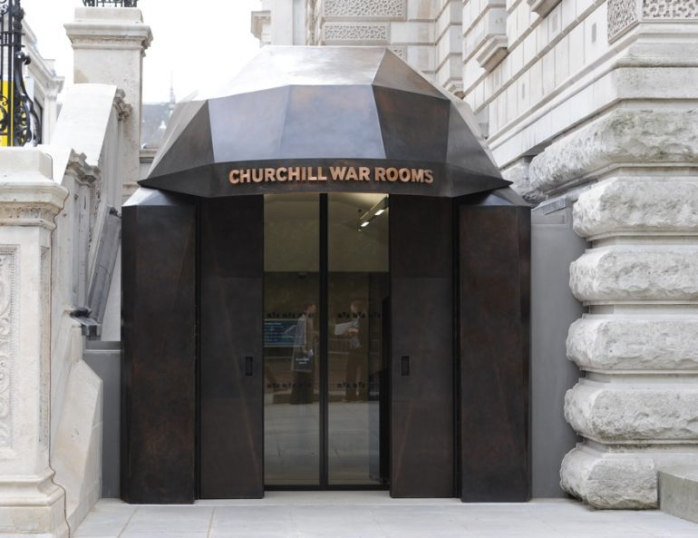 Churchill War Rooms - New Entrance.