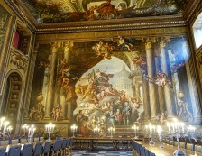 Greenwich, London - Painted hall at Maritime Museum. Photo Credit: ©Siggy Nowak/Pixabay.