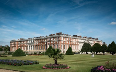 Hampton Court Palace - The Baroque South and East Fronts.