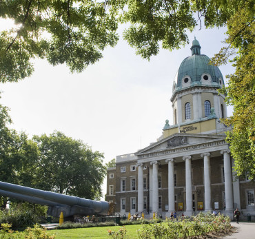 Imperial War Museum London - external view.