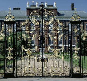 Kensington Palace - Exterior Gate.