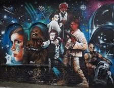 London - Star Wars Street Art in Brick Lane. Photo Credit: ©Ursula Petula Barzey.