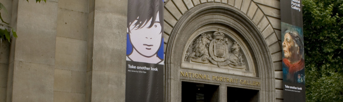 National Portrait Gallery - Main Entrance.