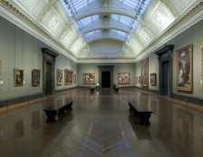The National Gallery - Interior.