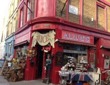 Notting Hill, London - Alice's Antiques shop. Photo Credit: ©Ursula Petula Barzey.