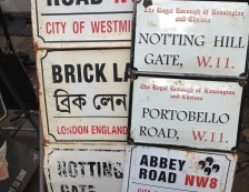 Notting Hill, London - Antique road signs. Photo Credit: ©Ursula Petula Barzey